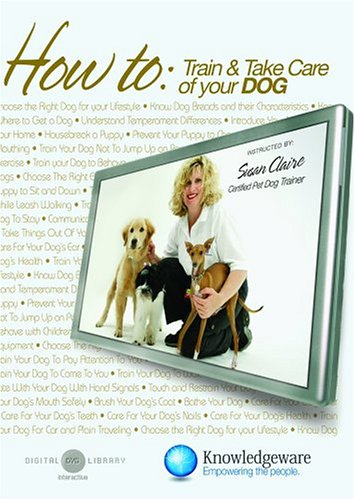 How To Train & Take Care of Your Dog DVD Image
