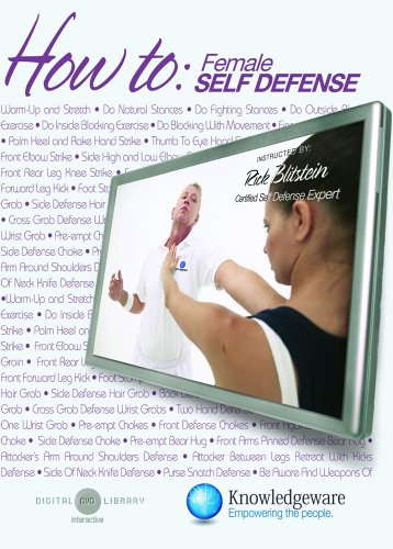 How To Perform Self Defense Techniques For Women DVD Image