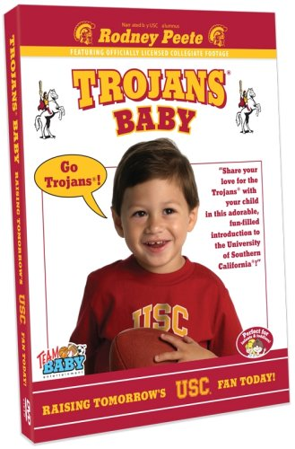 Team Baby: Trojans Baby - Raising Tomorrow's USC Fan Today DVD Image