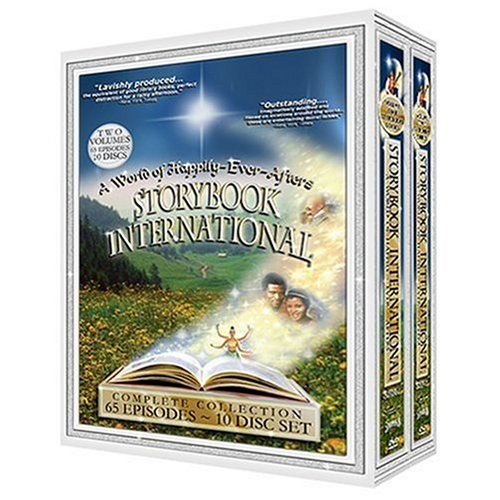 Storybook International Collection 10 Disc Set DVD Image