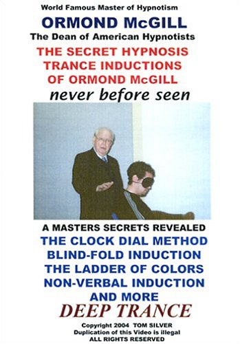 The Secret Hypnosis Trance Inductions of Ormond McGill DVD Image