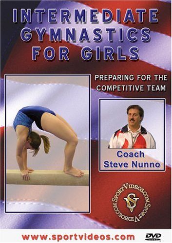 Intermediate Gymnastics for Girls: Preparing for the Team DVD Image