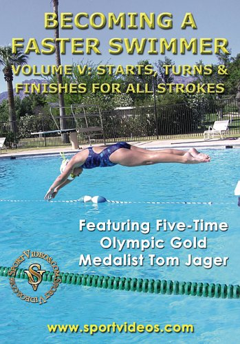 Becoming A Faster Swimmer: Starts, Turns, And Finishes For All Swimming Strokes DVD Image
