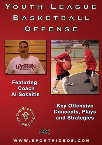 Youth League Basketball Offense DVD Image