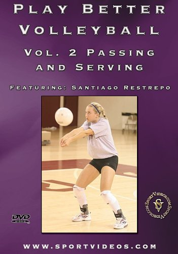 Play Better Volleyball: Passing and Serving [Region 2] DVD Image