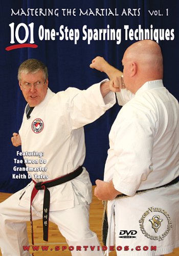 Mastering the Martial Arts Vol. 1: 101 One-Step Sparring Techniques DVD Image