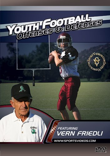 Youth Football Offenses And Defenses DVD Image