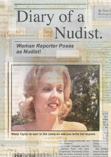 Diary Of A Nudist (DVD) Mature Romance (1961) Run Time: 72 Minutes ~ Starring: Dave Decker, Norman Casserly, Dolores Carlos, Allan Blacker, Maria Stinger. Directed by: Doris Wishman. *SUPER SALE PRICES!* DVD Image