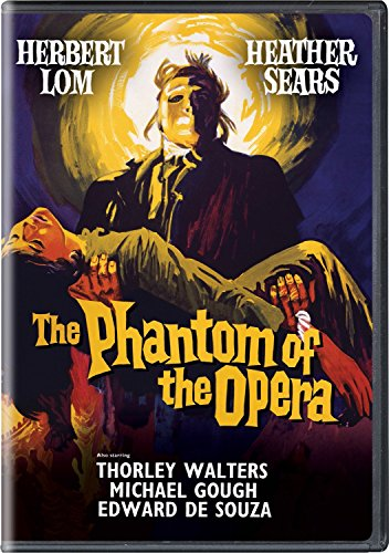 The Phantom of the Opera (1962) DVD Image