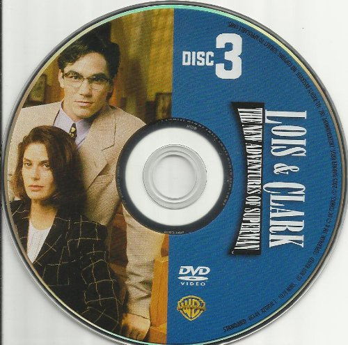 Lois & Clark the New Adventures of Superman Season 1 Disc 3 Replacement Disc! DVD Image
