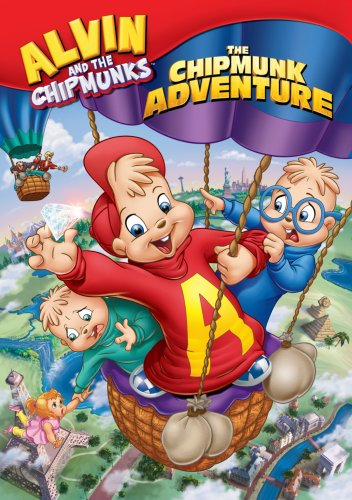 Alvin and the Chipmunks - The Chipmunk Adventure DVD Image