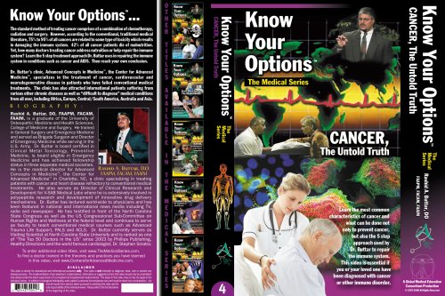 Know Your Options: CANCER, The Untold Truth DVD Image