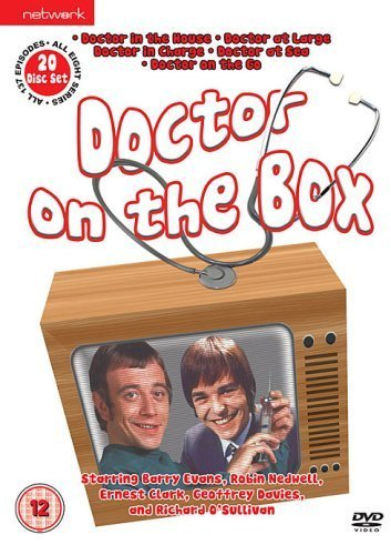Doctor on the Box set: Doctor in the House, Doctor at Large, Doctor in Charge, Doctor at Sea, Doctor On the Go [UK import, Region 2 PAL format] DVD Image