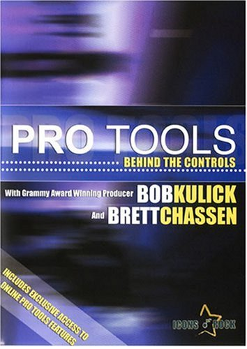 Pro Tools: Behind The Controls how to learn Digidesign Pro Tools instructional video DVD Image
