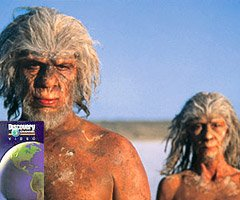 Walking with Cavemen - Discovery Channel DVD Image