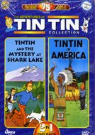 Tin Tin Collection *Tintin & the Mystery At Lake Shark / Tintin in America* DVD Image