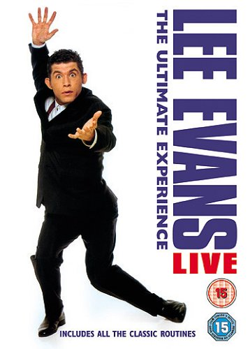 Lee Evans - The Ultimate Experience [Import anglais] DVD Image