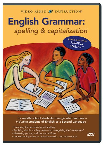 English Grammar: Spelling & Capitalization DVD Image