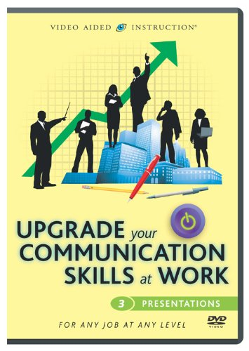 Upgrade Your Communication Skills At Work: Presentations DVD Image