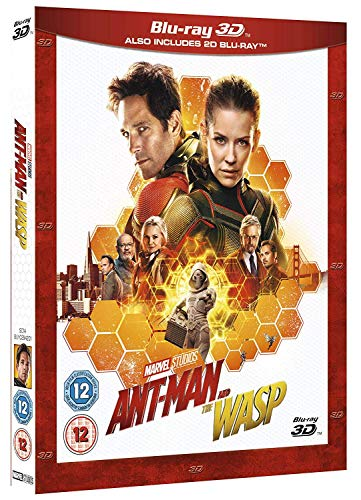 Ant-Man and the Wasp [3D Blu-ray + Blu-ray] DVD Image