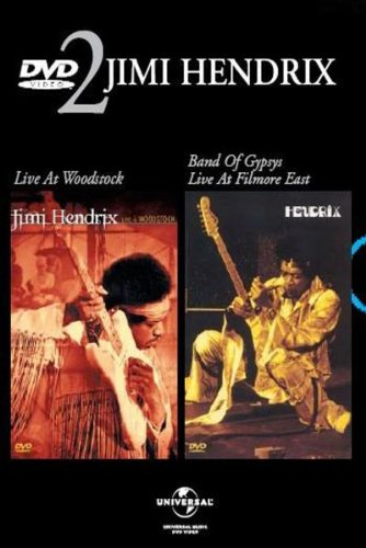 Coffret Jimi Hendrix 2 DVD : Live At Woodstock / Band Of Gypsys (Live at the Fillmore East) DVD Image
