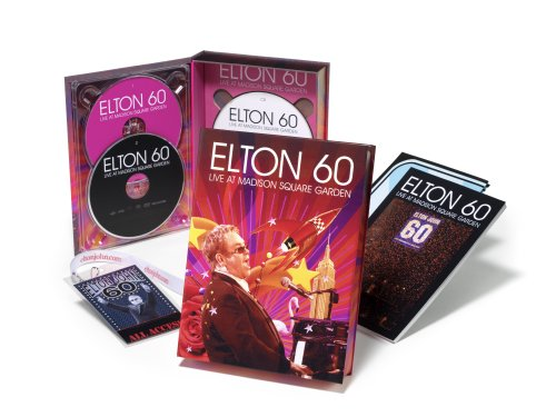 Elton 60: Live at Madison Square Garden Collector's Box Set - Amazon.com Exclusive [2 DVD/1 CD] DVD Image