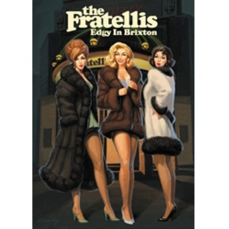 The Fratellis - Edgy in Brixton DVD Image
