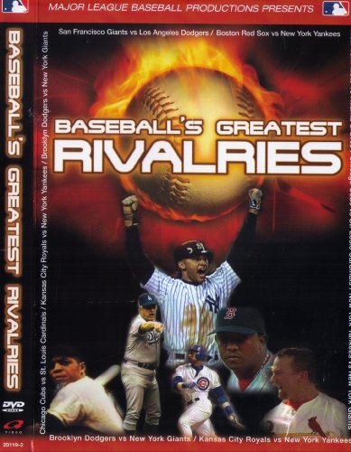 Baseball's Greatest Rivalries DVD Image