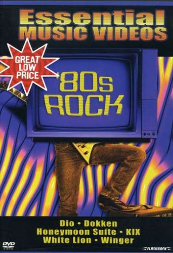 Essential Music Videos: '80s Rock DVD Image