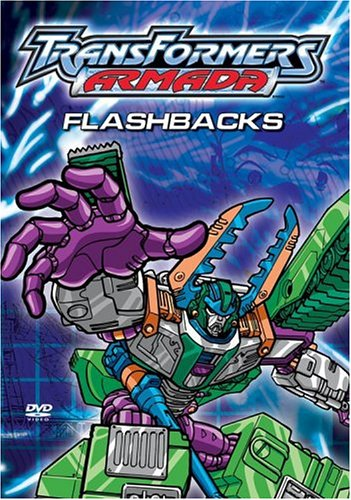 Transformers Armada - Flashbacks DVD Image