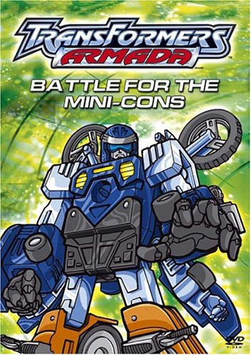 Transformers Armada - Battle for the Mini-Cons DVD Image