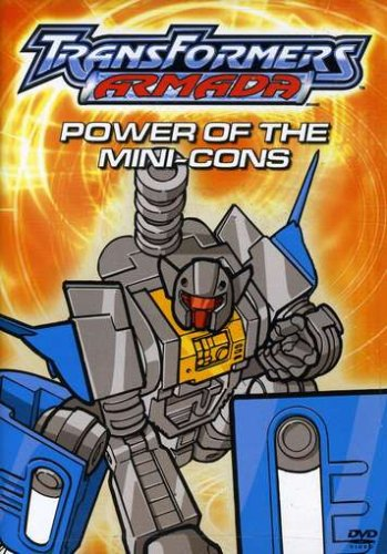 Transformers Armada - Power of the Mini-Cons DVD Image