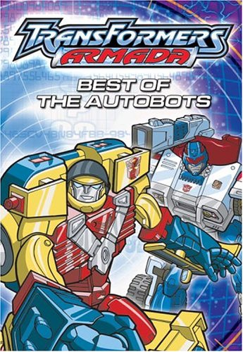 Transformers Armada - Best of the Autobots DVD Image