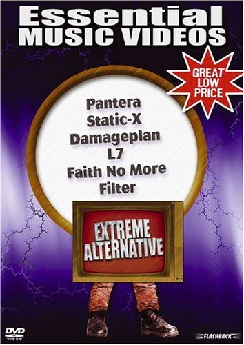 Essential Music Videos: Extreme Alternative DVD Image