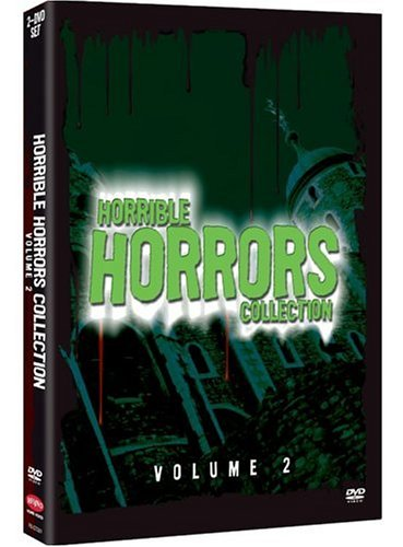 Horrible Horrors, Vol. 2: Don't Answer The Phone / Terrified / Blood Of Dracula's Castle / Blood Mania / ... DVD Image