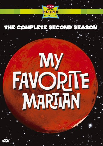 My Favorite Martian: Complete 2nd Season DVD Image