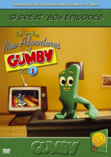 Gumby: The Very Best New Adventures of Gumby, Vol. 1 DVD Image