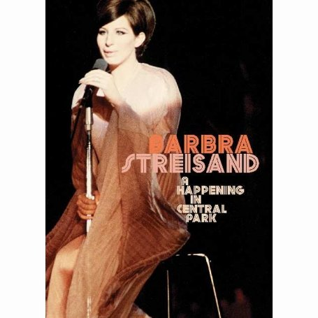 Barbra Streisand - A Happening in Central Park DVD Image