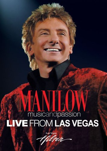 Barry Manilow: Live From Las Vegas DVD Image