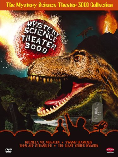 The Mystery Science Theater 3000 Collection, Vol. 10 (Godzilla vs. Megalon / Swamp Diamonds / Teen-Age Strangler / The Giant Spider Invasion) DVD Image