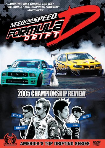Need for Speed: Formula Drift - 2005 Championship Review DVD Image