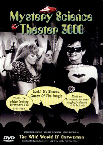 Mystery Science Theater 3000 - The Wild World of Batwoman DVD Image