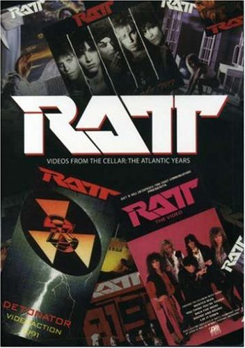Ratt - Videos From the Cellar: The Atlantic Years DVD Image