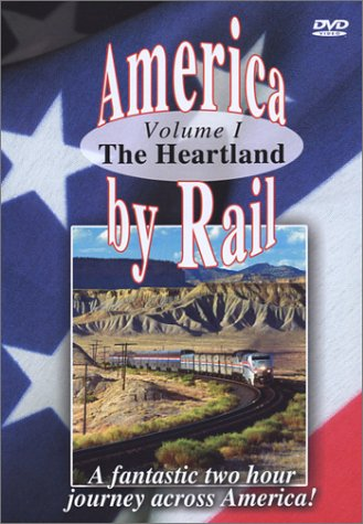 American Trains-America By Rail-the Heartland DVD Image