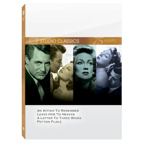 An Affair to Remember, Leave Her to Heaven, A Letter to Three Wives, Peyton Place DVD 4-Pack DVD Image