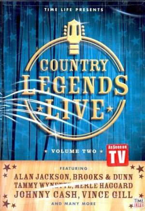 Country Legends Live, Vol. 2 DVD Image
