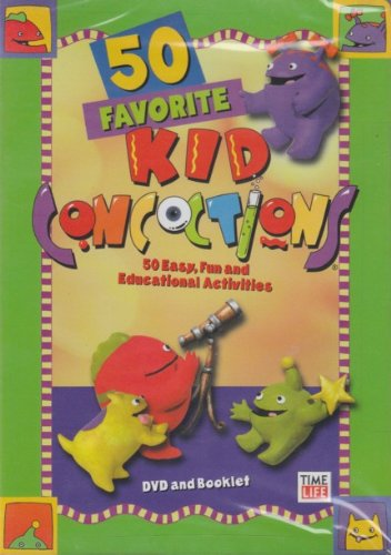 50 Favorite Kid Concoctions (DVD and Booklet) DVD Image