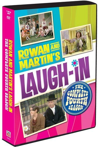 Rowan and Martin's Laugh-In: The Complete Fourth Season (7DVD) DVD Image
