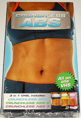Crunchless Abs, Crunchless Abs 2 & 3 All on One VHS Video DVD Image