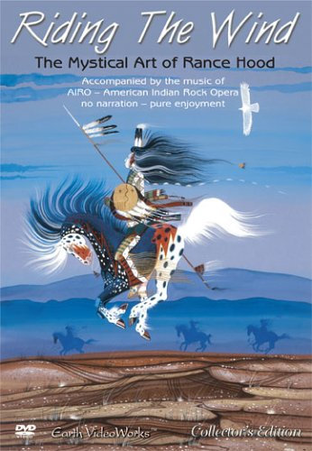 Riding The Wind - The Mystical Art of Rance Hood DVD Image